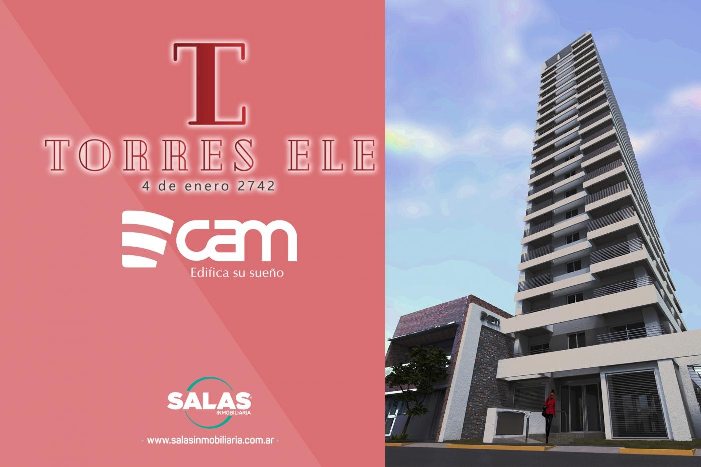 TORRES  ELE - CAM 91 -CAM 94 -  4 de Enero y  Eva Perón